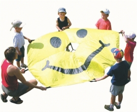 Parachute Smiley 1,8m.