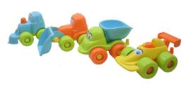 Set van 4 ZandbakAuto's