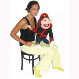 Handpop Groot Meisje