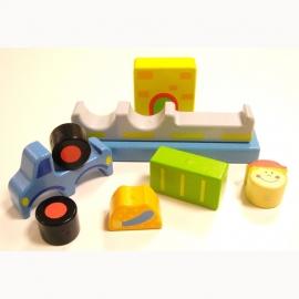 Magnetische Blokpuzzel