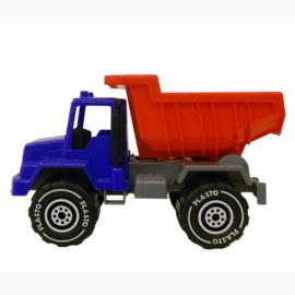 Rood/Blauwe Vrachtwagen
