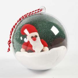 12 x Transparante (Kerst)Bal