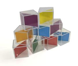 Diagonaal Blokken met Kleuren