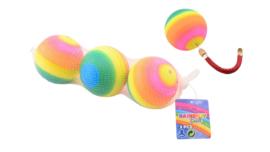 setje met 3 regenboog ballen