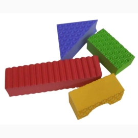 Textuur Blokken met Dieren