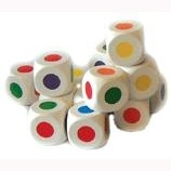 Set 12 KleurenDobbelstenen
