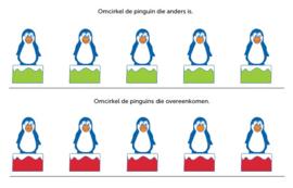 Werkblad Pinguins