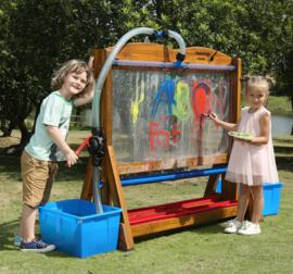 Outdoor Schilders Ezel met waterpomp