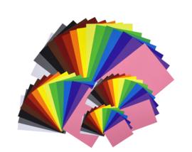 Papier Pakket 15 Kleuren
