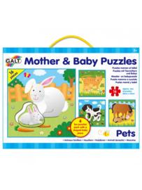 Mama & Baby Puzzel Huisdieren