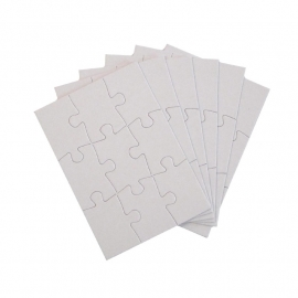 Blanco Puzzel Set A6