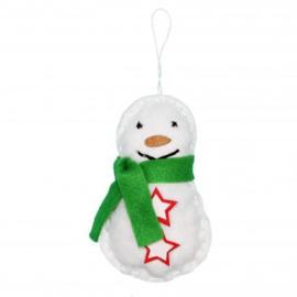 Knutselpakket Compleet - Sneeuwpop