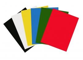 Gekleurd Papier Grote Vellen