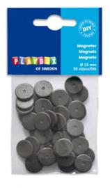 36 Ronde Magneetjes