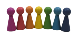 Regenboog Architect Pionpoppen