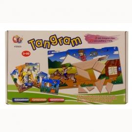 Tangram PuzzelSpel