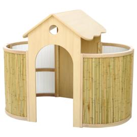 Speelhuisje Bamboe