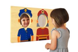 Spiegel Wandbord Wie Ben Ik?