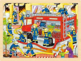 Grote legpuzzel brandweer