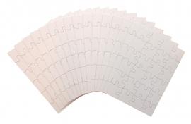Blanco Puzzel VoordeelSet A5