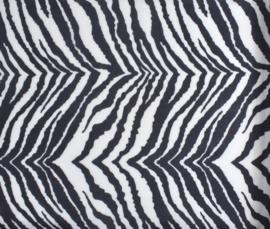 5 Meter Vilt met ZebraPrint