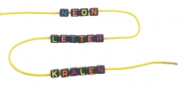 Neon LetterKralen
