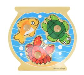 Dikke Knoppen Puzzel Aquarium
