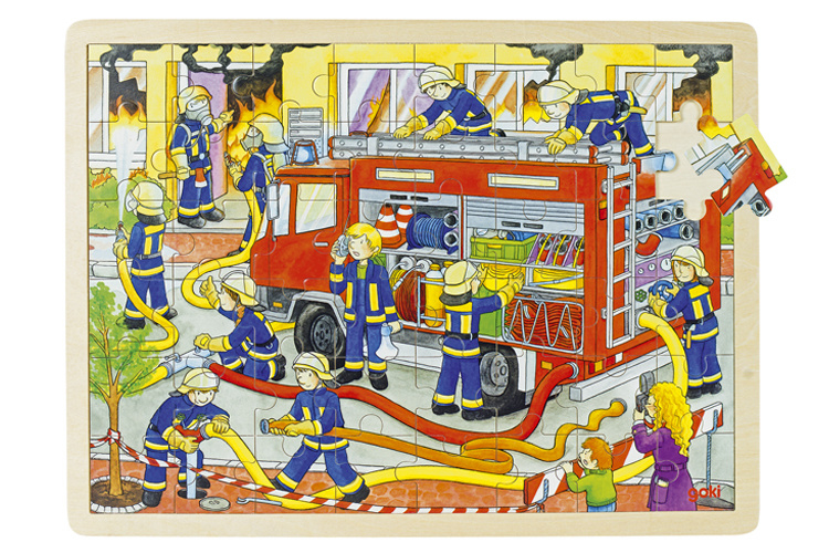 RaamPuzzel Brandweer
