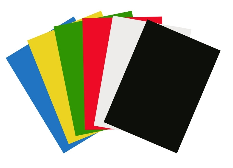 Gekleurd Karton Grote Vellen