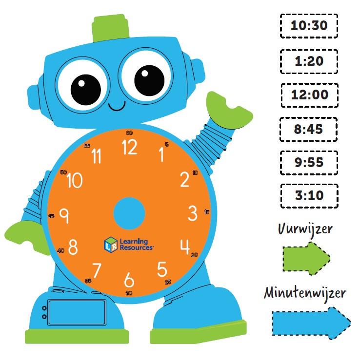 Werkblad Tijd Digitaal