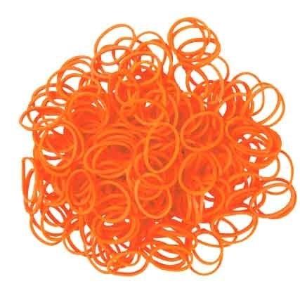 Loom Elastiekjes Oranje