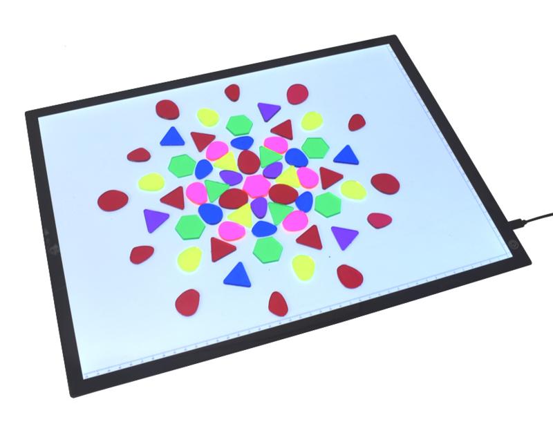 Transparante Mozaiek Vormen