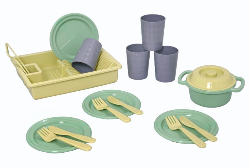 Eco Diner Set voor 4 personen