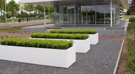 POLYESTER LANGWERPIG 'BUXUS'