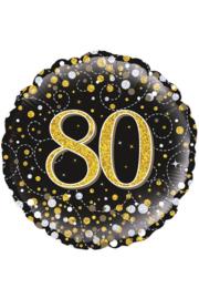 Folieballon 80 jaar