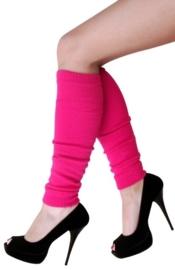 Beenwarmer pink