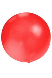 Grote rode ballon