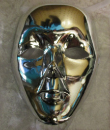Masker zilver