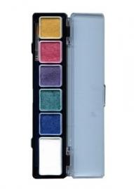 Schminkpallet parelmoer kleuren