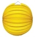 Lampion rondmodel geel