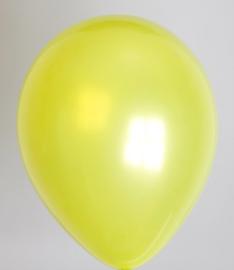 Ballon appelgroen metallic