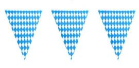 Vlaggenlijn blauw/wit