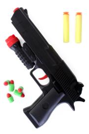 Pistool zachte kogels
