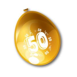 Ballonnen 50 jaar getrouwd