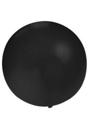 Grote zwarte ballon