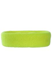 Hoofd/zweetband geel