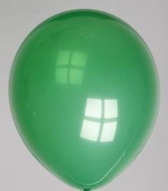 Ballonnen donkergroen verpakt per 100