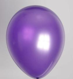 Ballon donkerpaars metallic