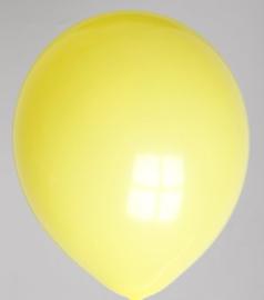 Ballonnen geel verpakt per 100