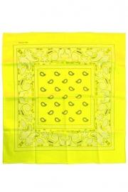 Zakdoek/bandana geel